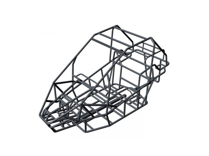 ibb FEM-Berechnung NESS CAD Fahrzeugrahmen